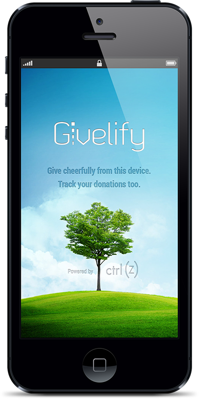 easiest fastest mobile giving app track donations too givelify