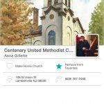 Centenary United Methodist Church Mobile Giving App