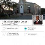 First African Baptist Church Mobile Giving App