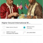 Higher Ground International Ministries Mobile Giving App