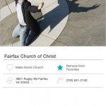 Fairfax Church of Christ Mobile Giving App