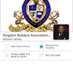 Kingdom Builders Association Mobile Giving App