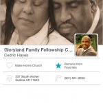 Gloryland Family Fellowship Church Mobile Giving App
