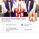 New Vision World Wide Fellowship Mobile Giving App