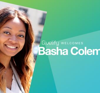 Givelify Welcomes Basha Coleman